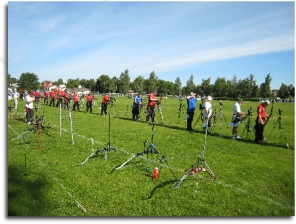 Island Games shooting line